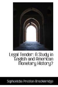 Legal Tender