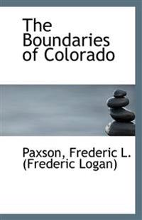 The Boundaries of Colorado