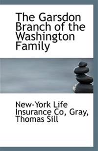 The Garsdon Branch of the Washington Family