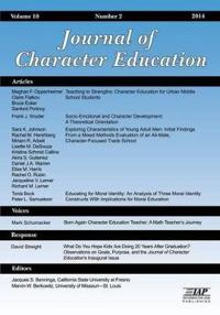 Journal of Character Education, Issue 2