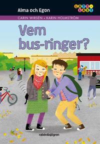 Alma och Egon. Vem bus-ringer?