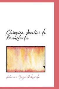 Chronica Jocelini De Brakelonda