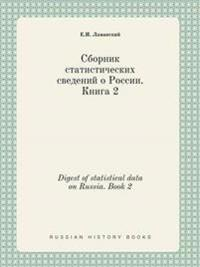 Digest of Statistical Data on Russia. Book 2