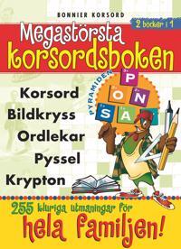 Megastörsta korsordsboken -  pdf epub