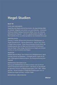Hegel-Studien / Hegel-Studien Band 18 (1983)