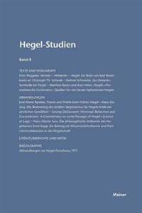 Hegel-Studien / Hegel-Studien Band 8 (1973)