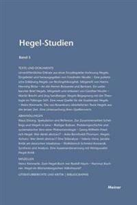 Hegel-Studien Band 5 (1969)