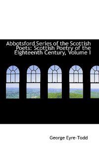 Abbotsford Series of the Scottish Poets