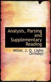 Analysis, Parsing and Supplementary Reading