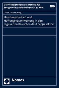 Handlungsfreiheit Und Haftungsverantwortung in Den Regulierten Bereichen Des Energiesektors