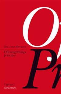 Offentligrättsliga principer