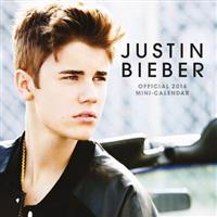 Official Justin Bieber 2014 Mini Calendar