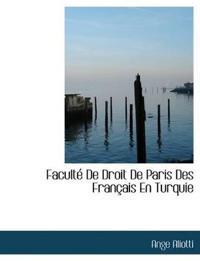Facult de Droit de Paris Des Fran Ais En Turquie