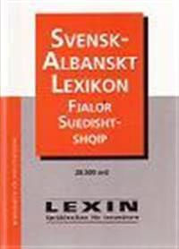Svensk-albanskt lexikon