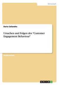 """Ursachen Und Folgen Des """"Customer Engagement Behaviour"""""""