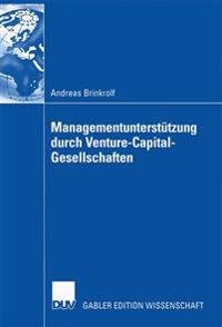 Managementunterstutzung Durch Venture-Capital-Gesellschaften