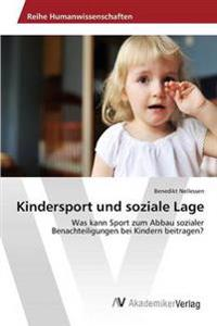 Kindersport Und Soziale Lage