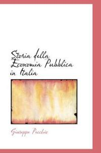 Storia Della Economia Pubblica in Italia