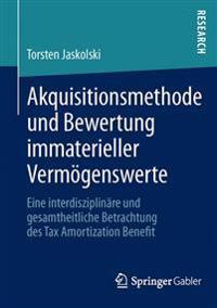 Akquisitionsmethode Und Bewertung Immaterieller Vermögenswerte