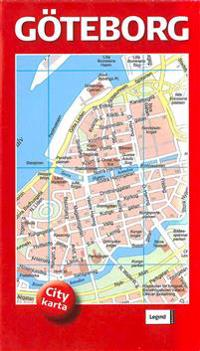 Göteborg Citykarta 50-pack