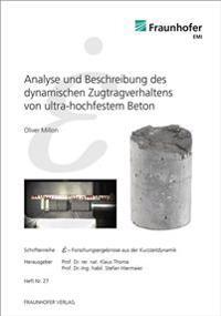 Analyse und Beschreibung des dynamischen Zugtragverhaltens von ultra-hochfestem Beton