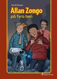 Allan Zongo på fyra ben