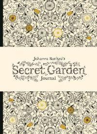 Johanna Basford's Secret Garden Journal