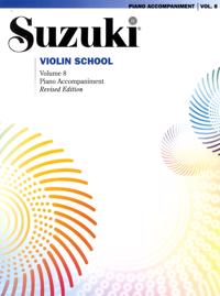 Suzuki Violin School, Vol 8: Piano Acc.
