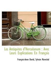 Les Antiquit?'s D'Herculanum