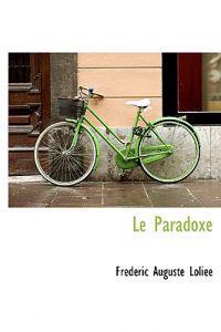 Le Paradoxe