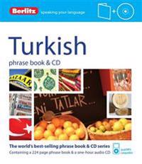 Berlitz Turkish Phrase Book [With CD (Audio)]