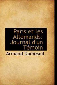Paris Et Les Allemands