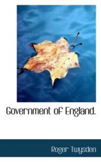Government of England.