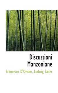 Discussioni Manzoniane