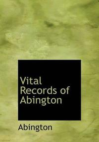 Vital Records of Abington