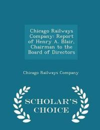 Chicago Railways Company