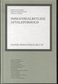 Dansk immaterialret-Immaterialretlige aftaleforhold