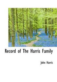 Record of the Harris Family
