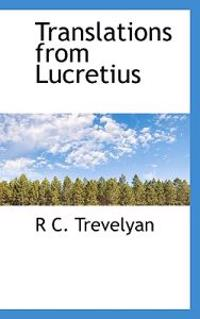Translations from Lucretius