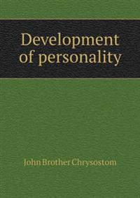 Development of Personality