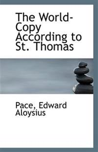 The World-Copy According to St. Thomas