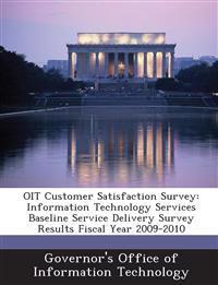 Oit Customer Satisfaction Survey