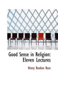 Good Sense in Religion