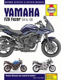Haynes Yamaha FZ6 Fazer '04 to '08 Service and Repair Manual