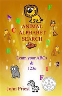 Animal Alphabet Search: Learn Your ABC's & 1,2,3's