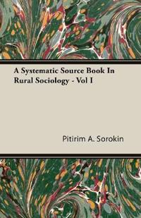 A Systematic Source Book in Rural Sociology