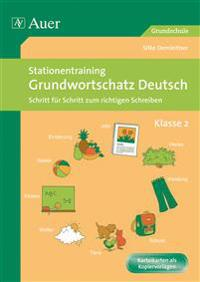 Stationentraining Grundwortschatz Deutsch