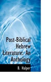 Post-biblical Hebrew Literature