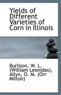 Yields of Different Varieties of Corn in Illinois