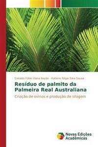 Residuo de Palmito Da Palmeira Real Australiana